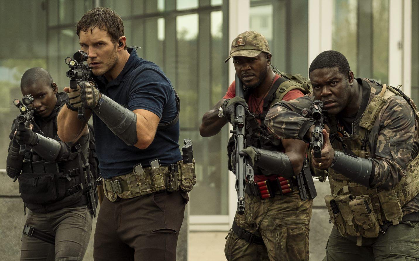 Chris Pratt in La guerra di domani