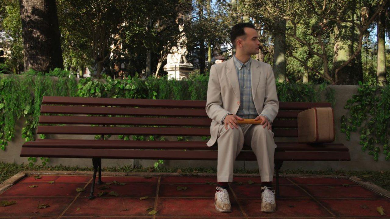 Tom Hanks nei panni di Forrest Gump