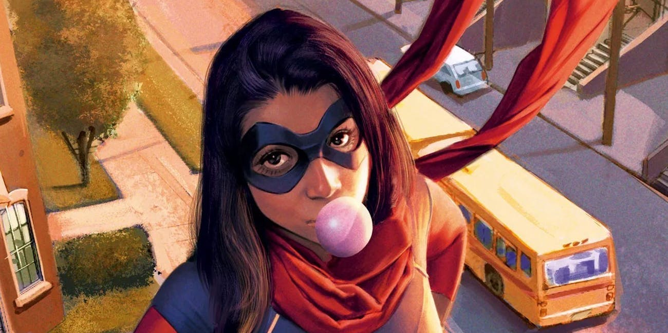 Iman Vellani in Ms. Marvel first look
