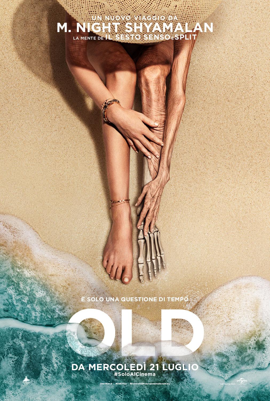 Old: il poster del nuovo film di M. Night Shyamalan
