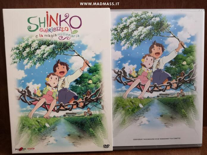 Shinko Ghiribizzo e la magia millenaria Blu-ray DVD recensione