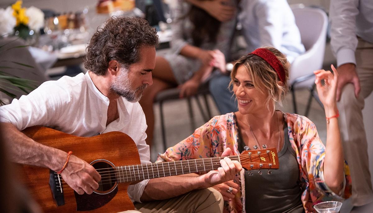 Sergio Muniz e Anna Foglietta