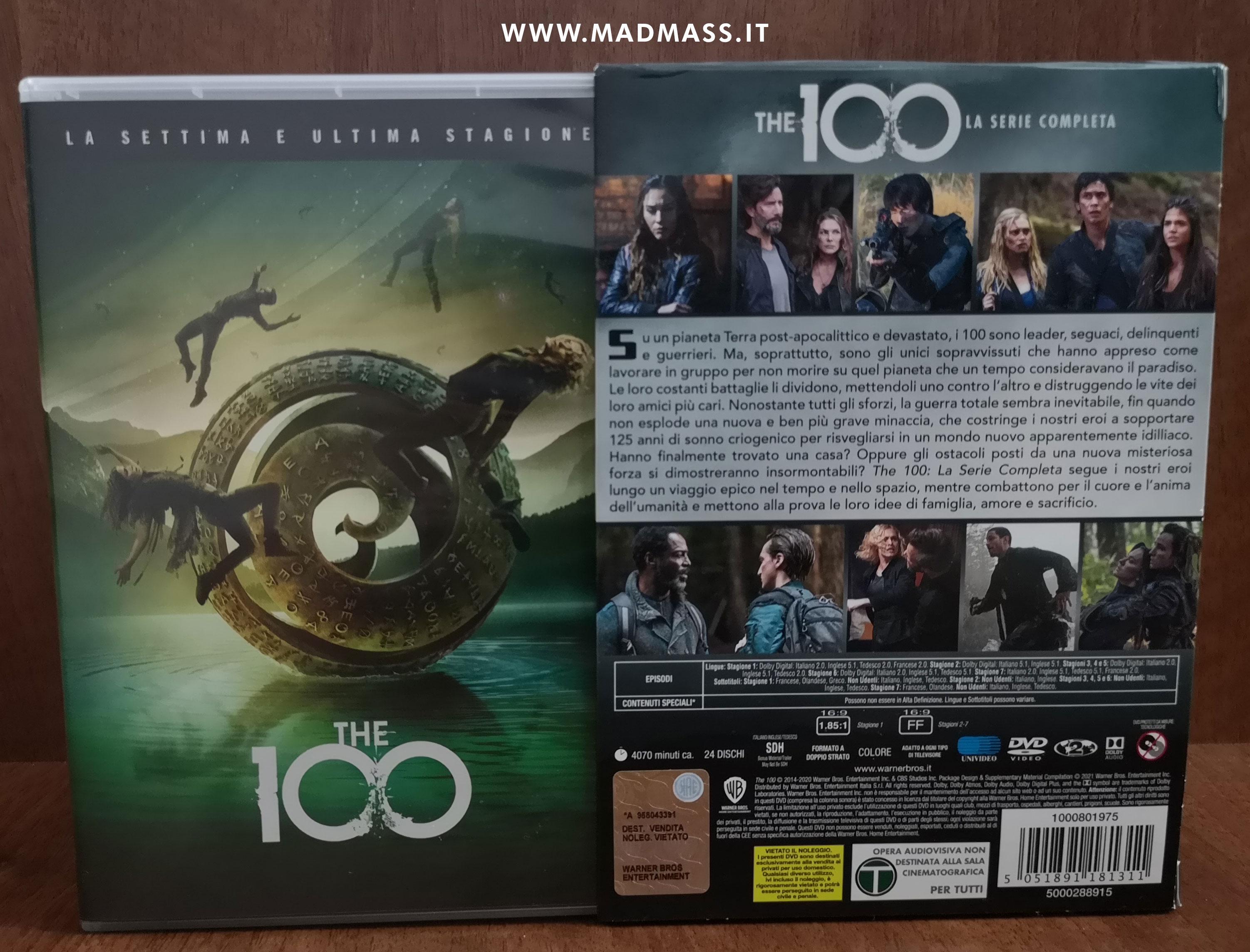 Il cofanetto della serie creata da Jason Rothenberg include anche la settima e ultima stagione