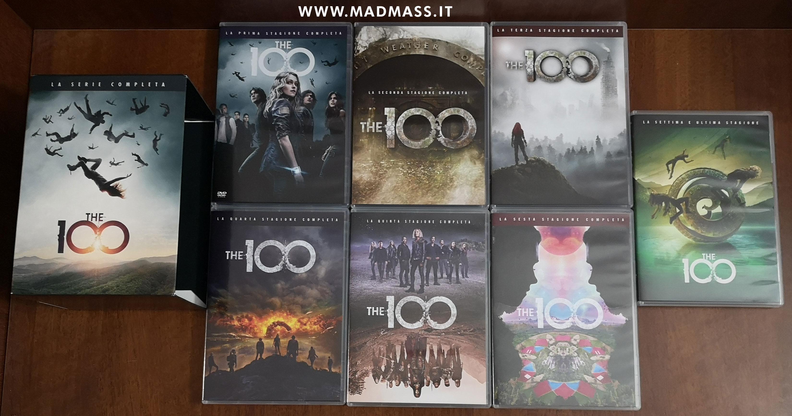 The 100 - La serie completa recensione cofanetto DVD Stagioni 1-7