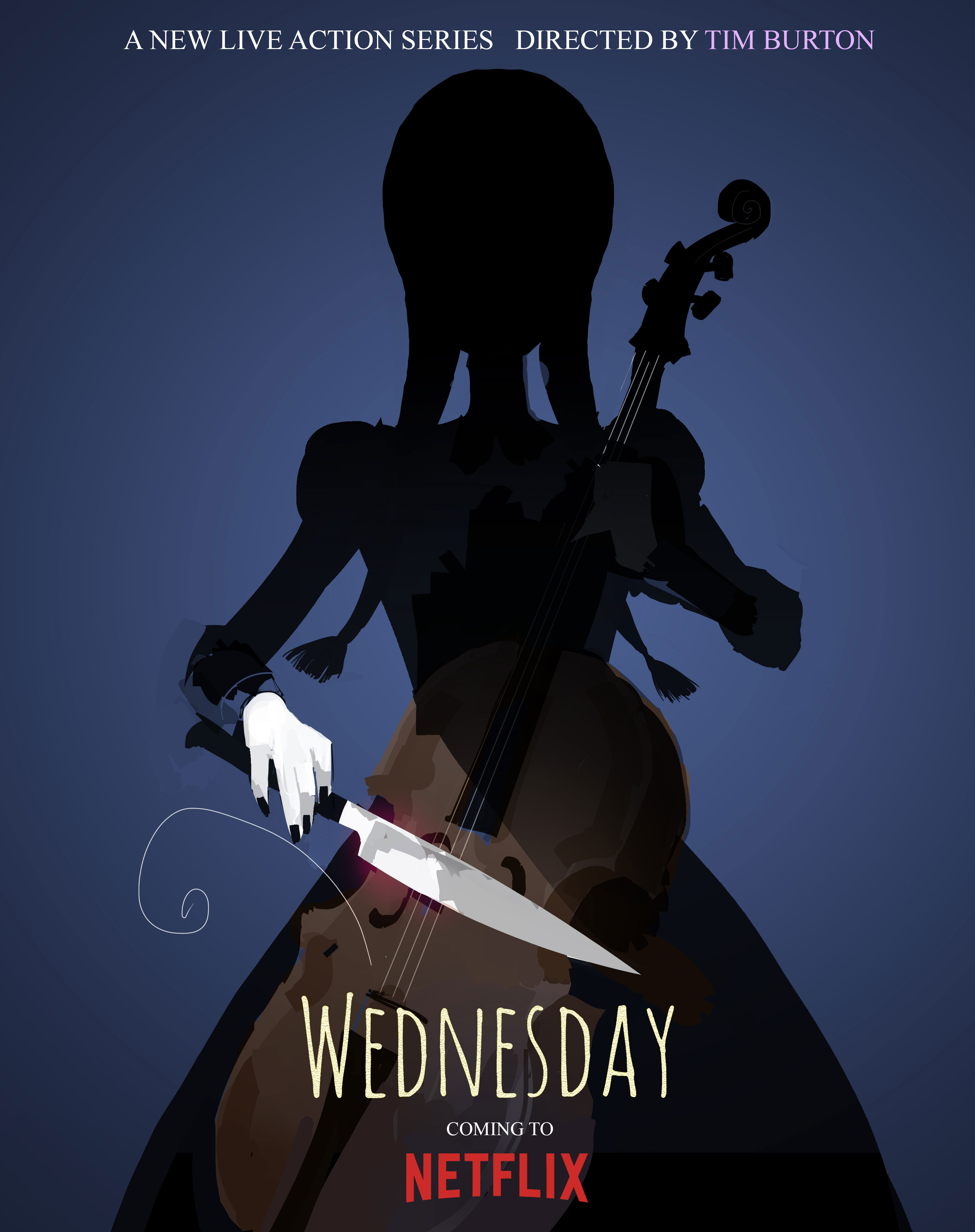 Wednesday: il poster
