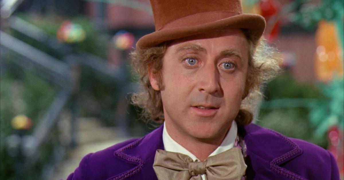 Gene Wilder in Willy Wonka e la fabbrica di cioccolato