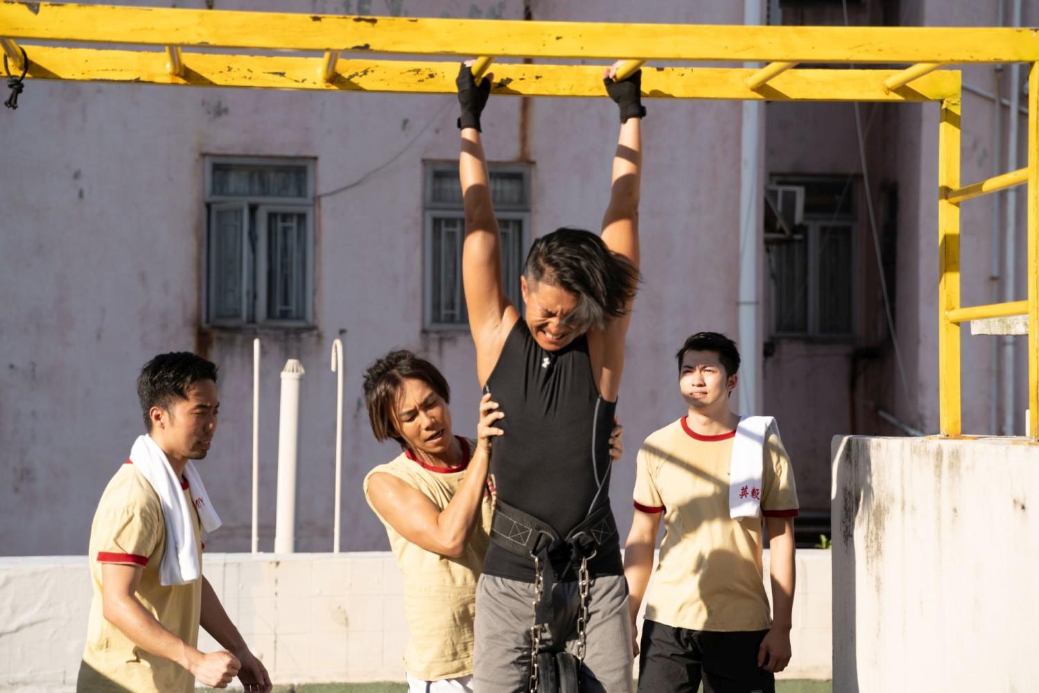 Chiu Sin-hang e Endy Chow in una scena di One Second Champion