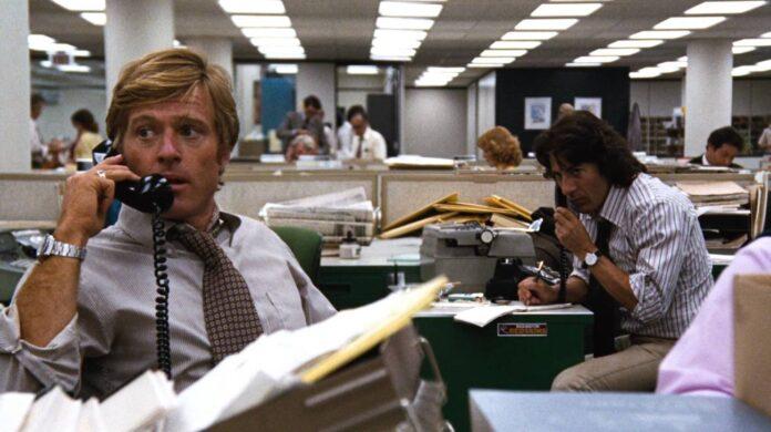Tutti gli uomini del Presidente: film sul giornalismo Watergate anniversario