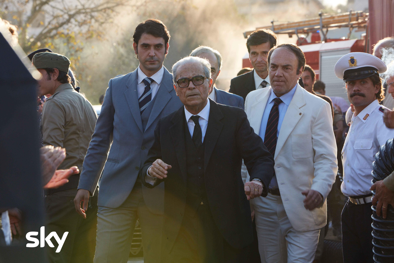 Massimo Dapporto Presidente della Repubblica Sandro Pertini