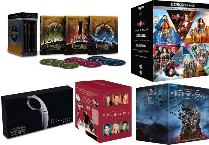 Amazon Prime Day: le migliori offerte Blu-ray e DVD Il Signore degli Anelli trilogia Steelbook 4K