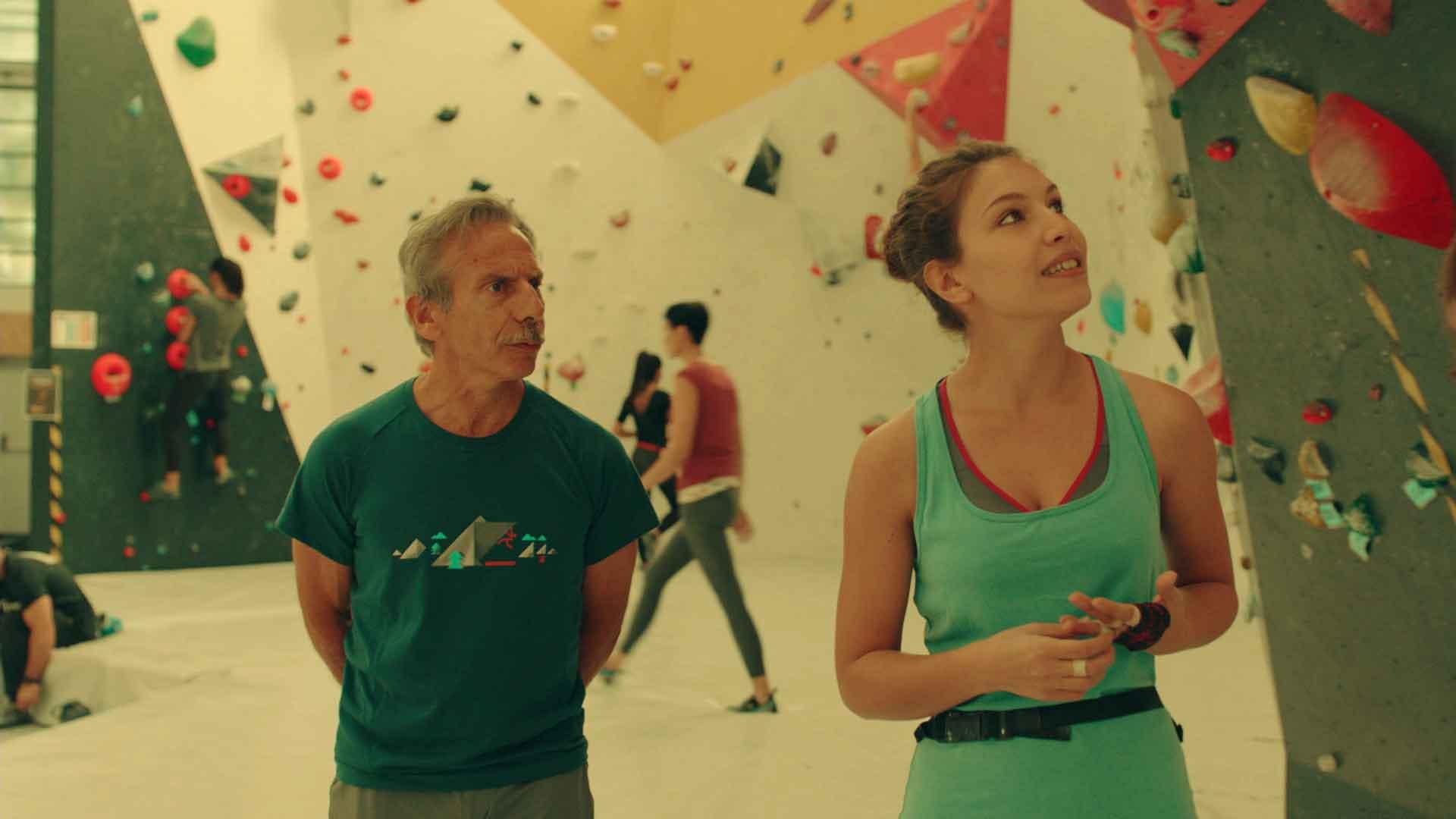 Giovanni Storti e Zoe Tavarelli