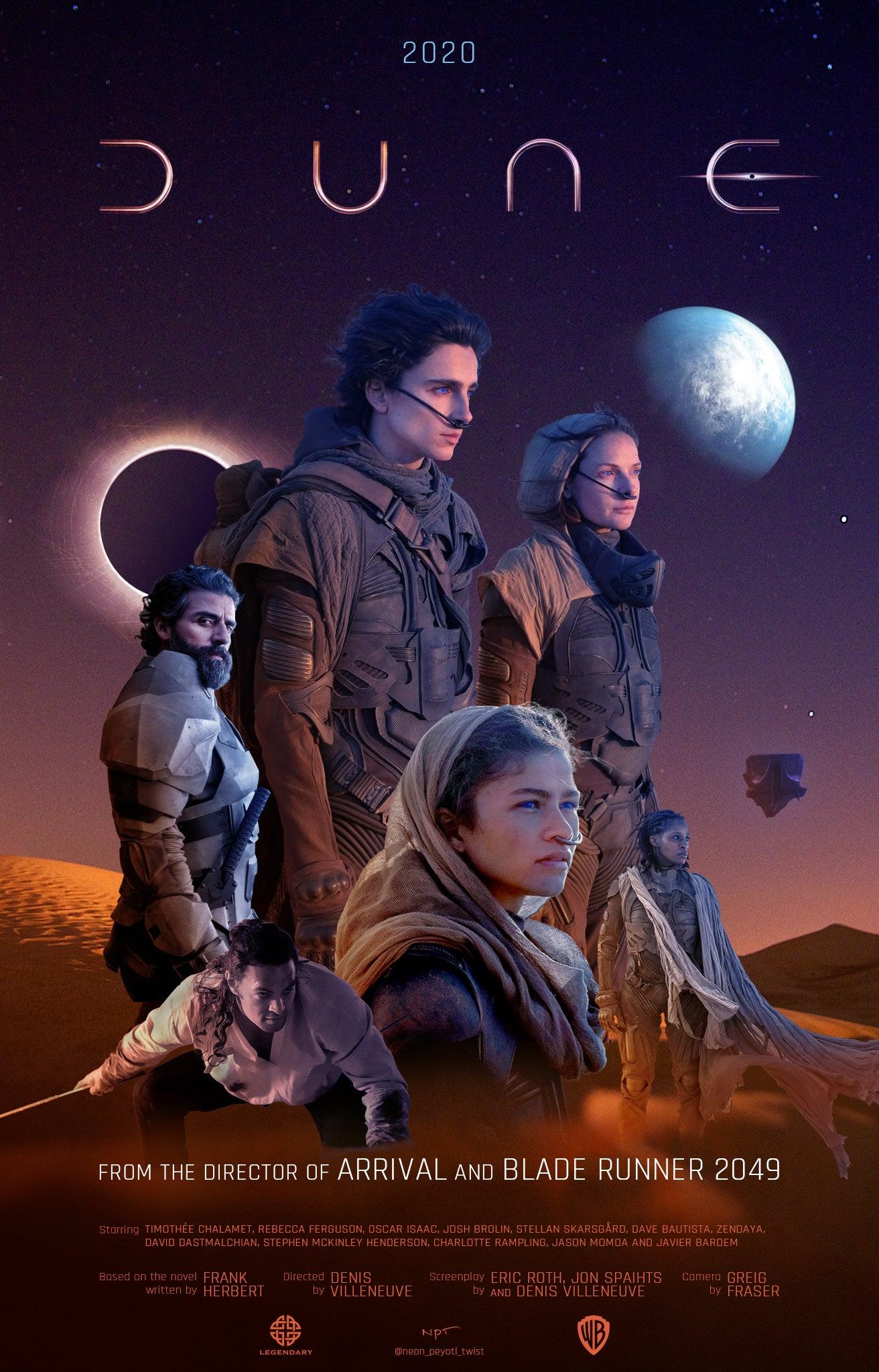 Dune (2021) movie poster
