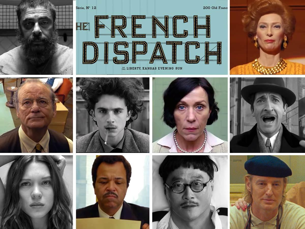 The French Dispatch di Wes Anderson in concorso al Festival di Cannes 74