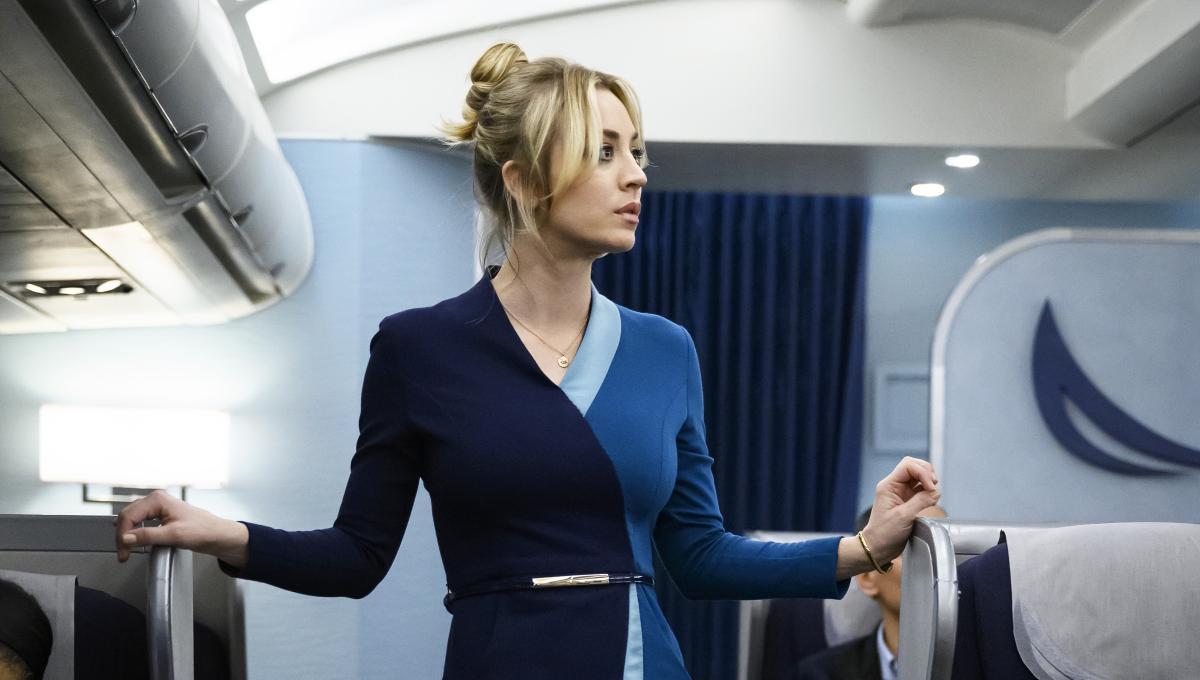 L'assistente di volo recensione serie TV Sky Serie con Kaley Cuoco