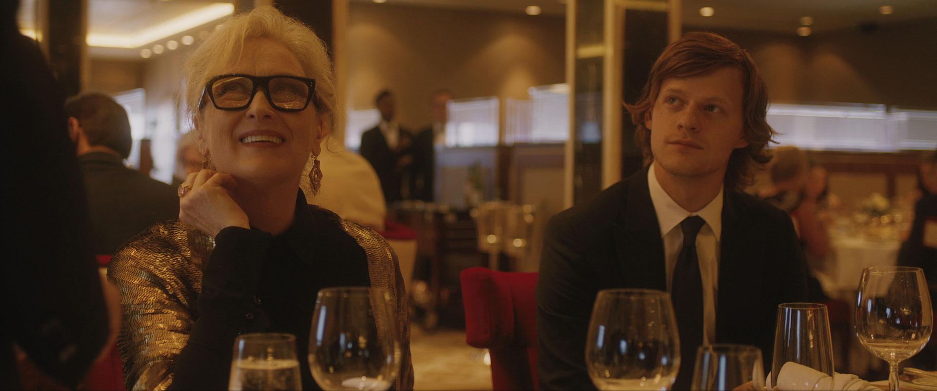 Meryl Streep e Lucas Hedges