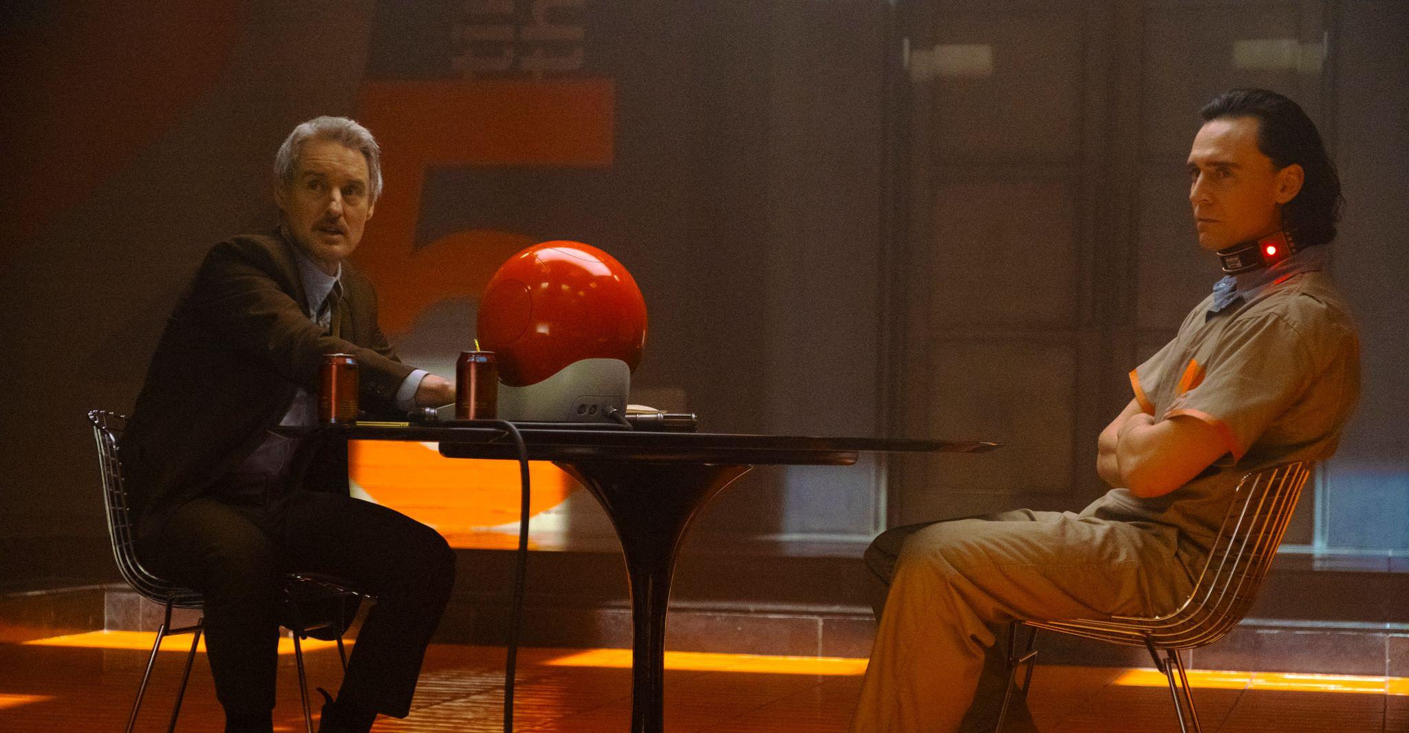 Owen Wilson e Tom Hiddleston
