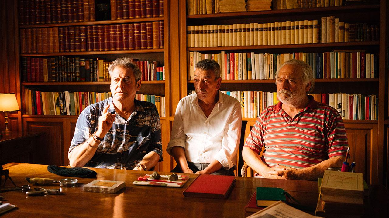 Ennio Fantastichini, Gianni Di Gregorio e Giorgio Colangeli