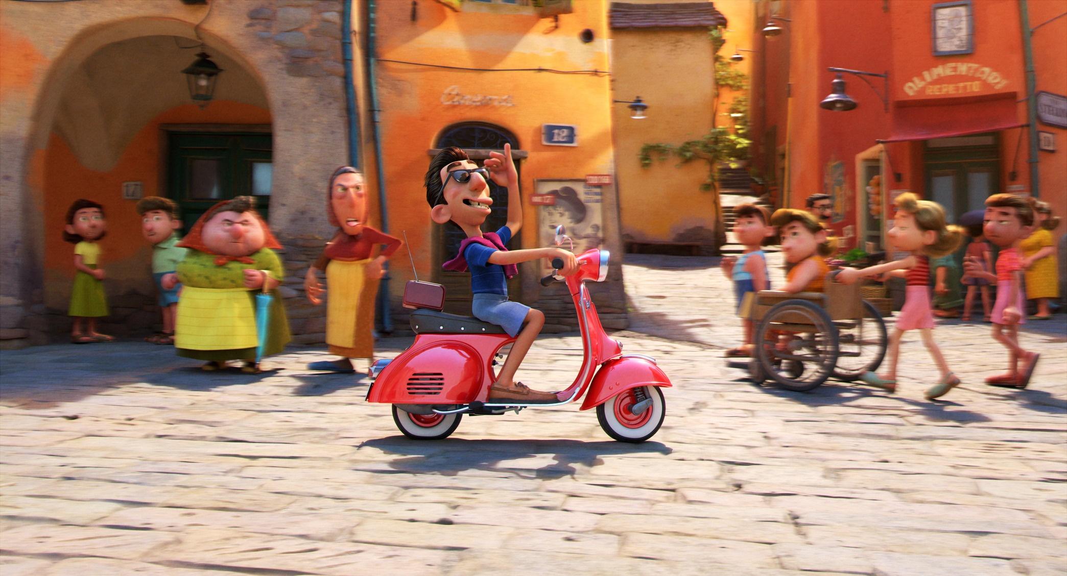 Luca recensione film d'animazione Disney Pixar Enrico Casarosa [Disney+]