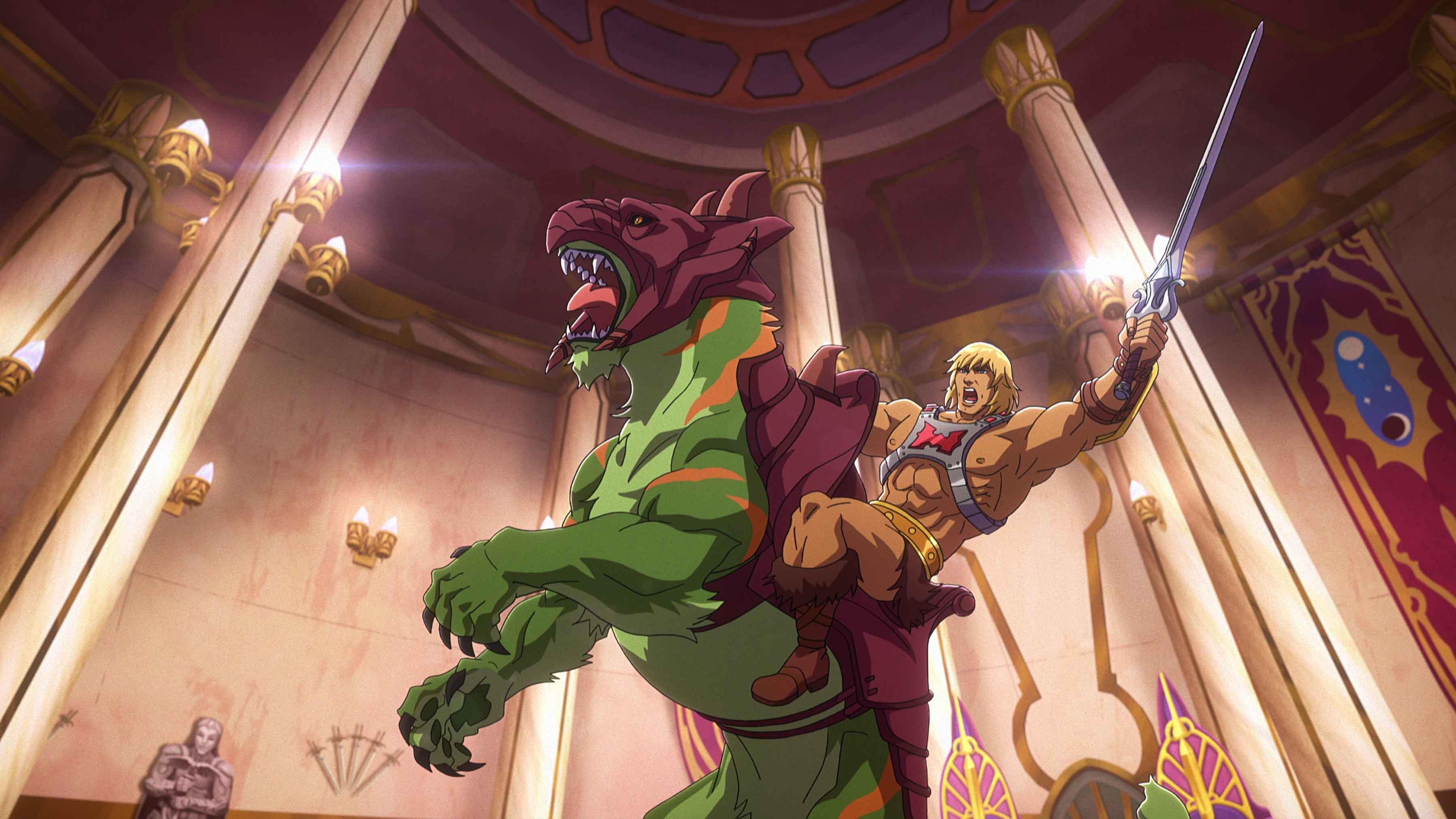 Battle Cat e He-Man