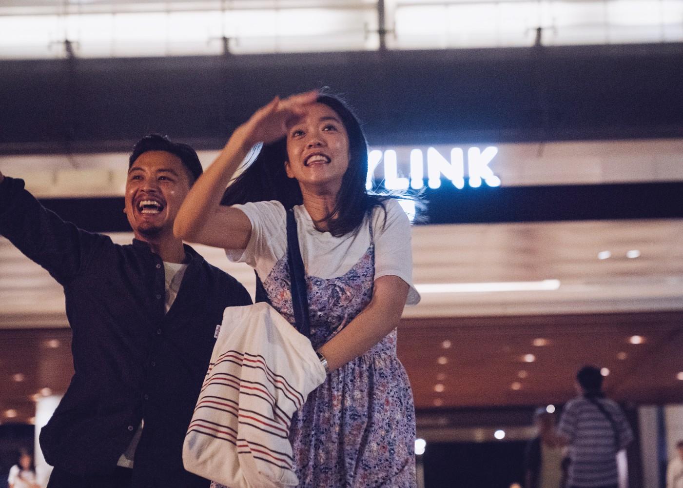 Liu Kuan-ting e Patty Lee