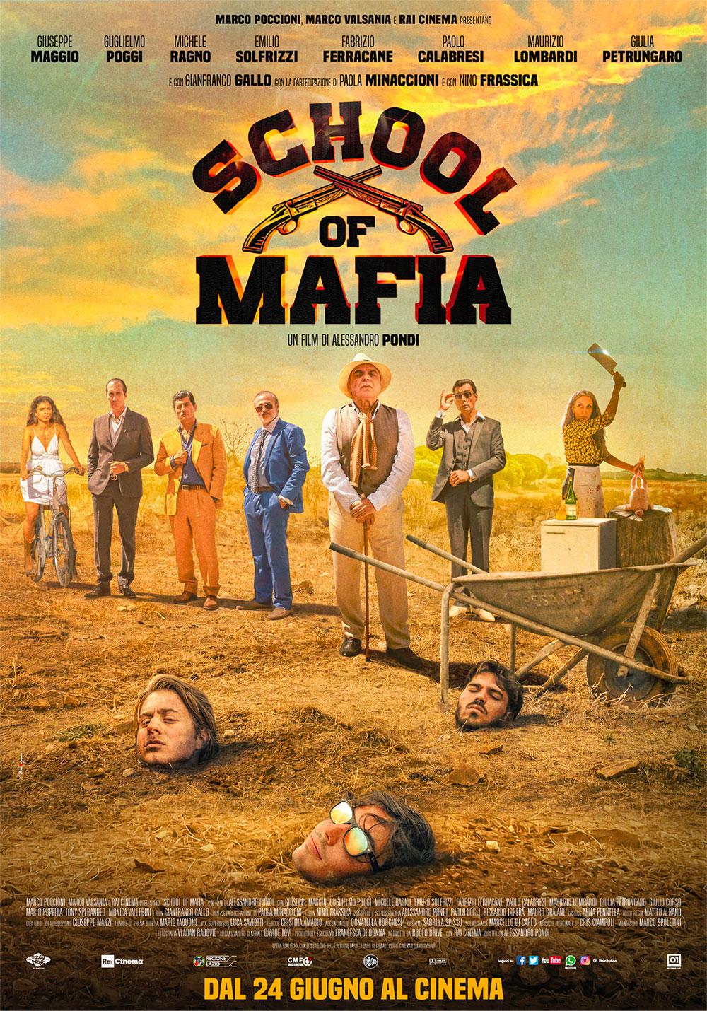 School of Mafia: la locandina