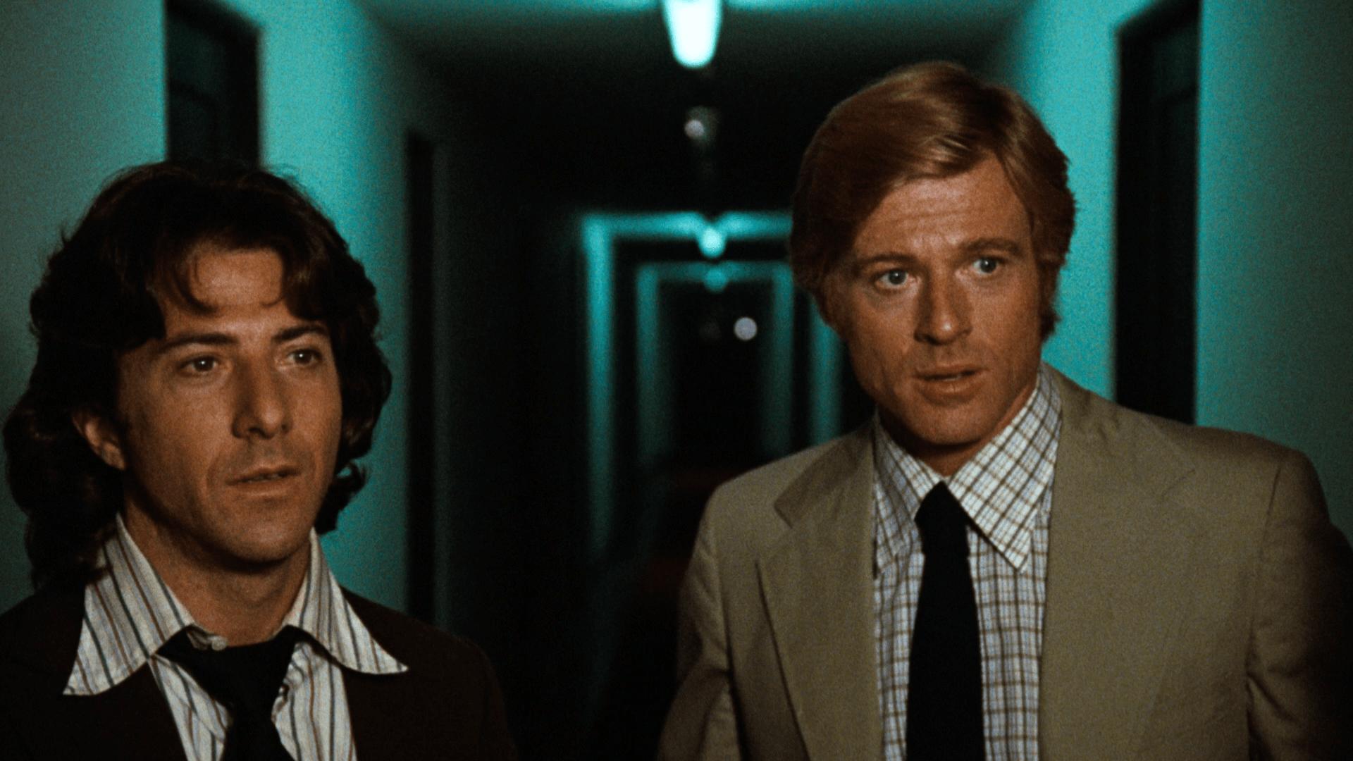 Dustin Hoffman e Robert Redford