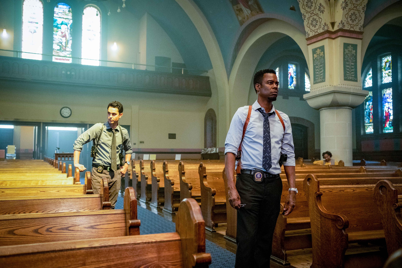 Spiral - L'eredità di Saw recensione film con Chris Rock e Samuel L. Jackson