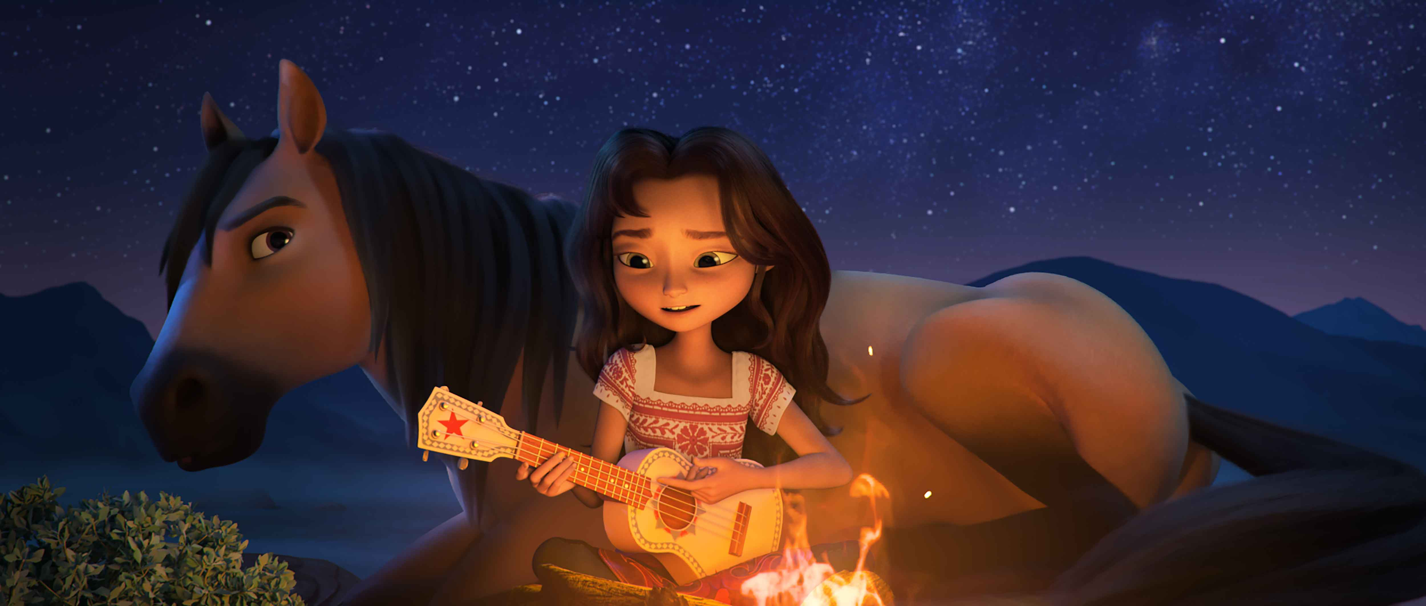 Spirit - Il ribelle recensione film d'animazione