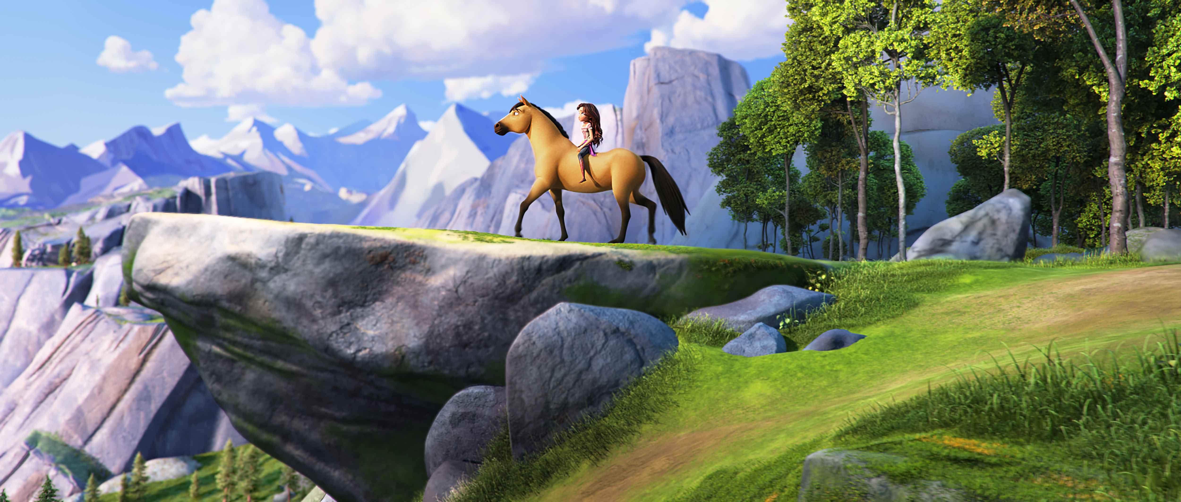 Spirit - Il ribelle film d'animazione DreamWorks Animation