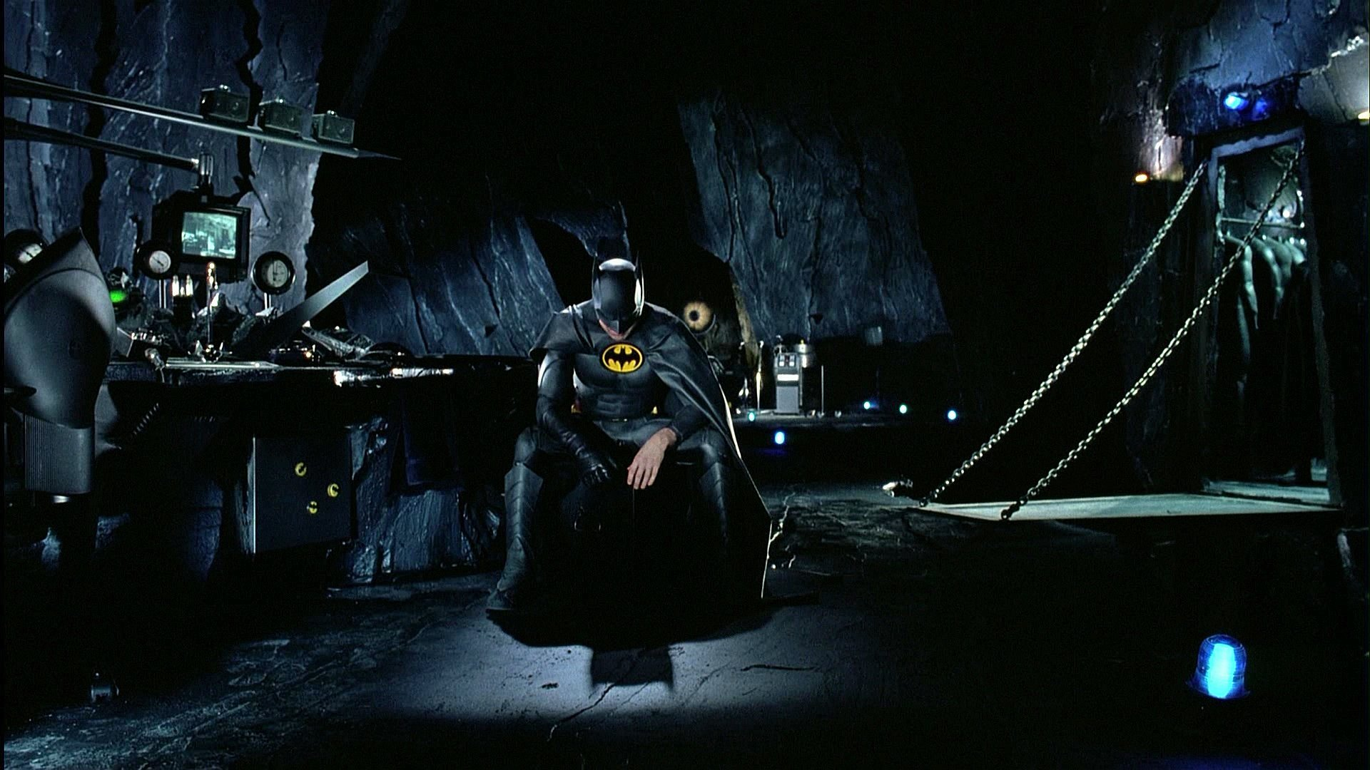 Il ritorno del Batman di Michael Keaton in The Flash