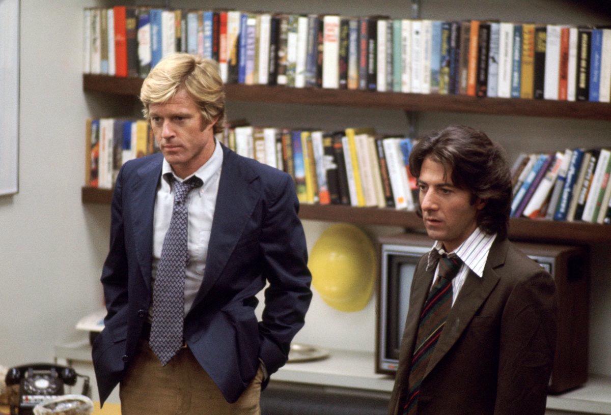 Robert Redford e Dustin Hoffman