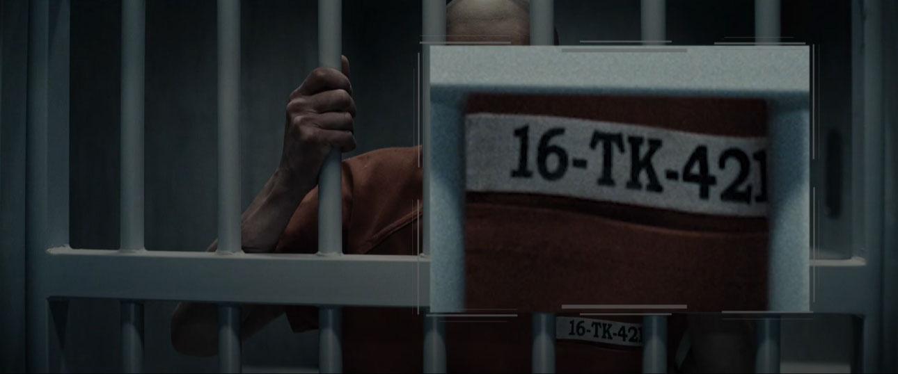 16-TK-421 e il riferimento a Star Wars Lex Luthor