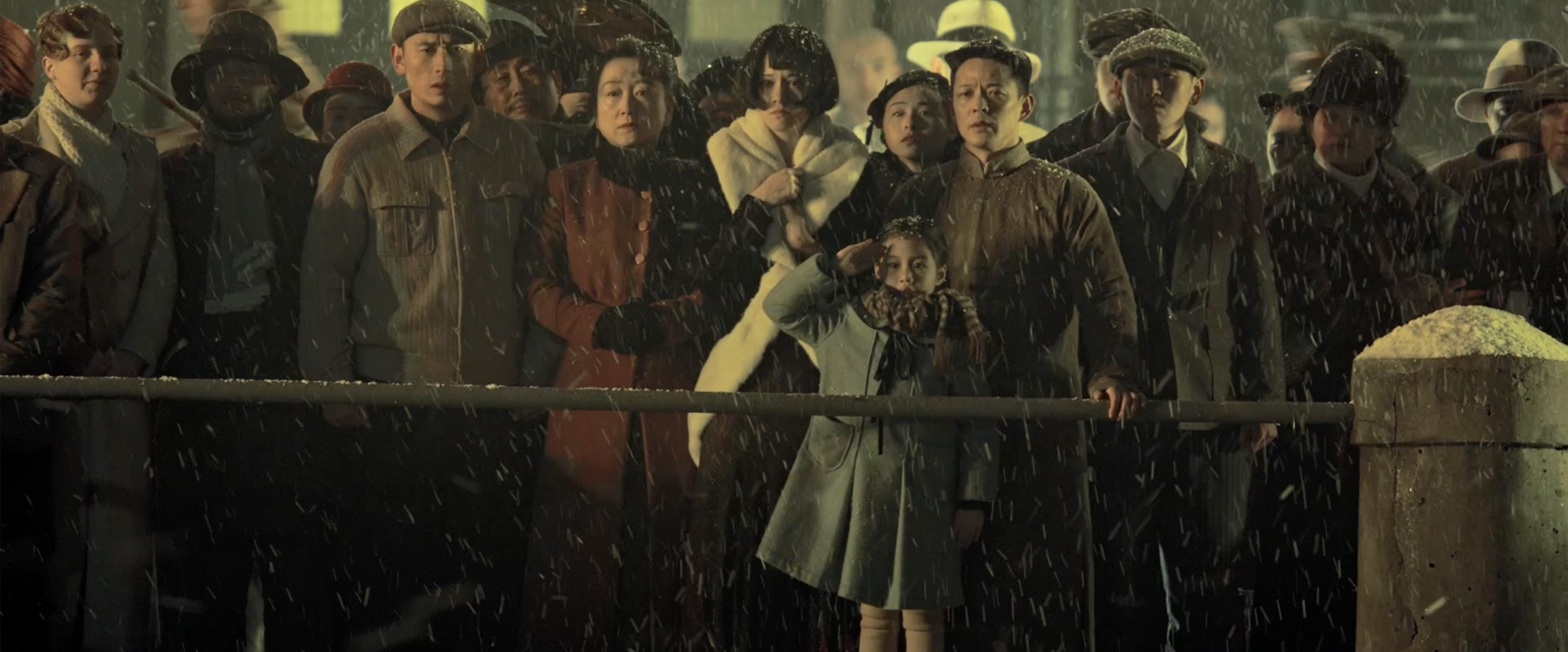Una delle scene più commoventi dell'opera di Guan Hu