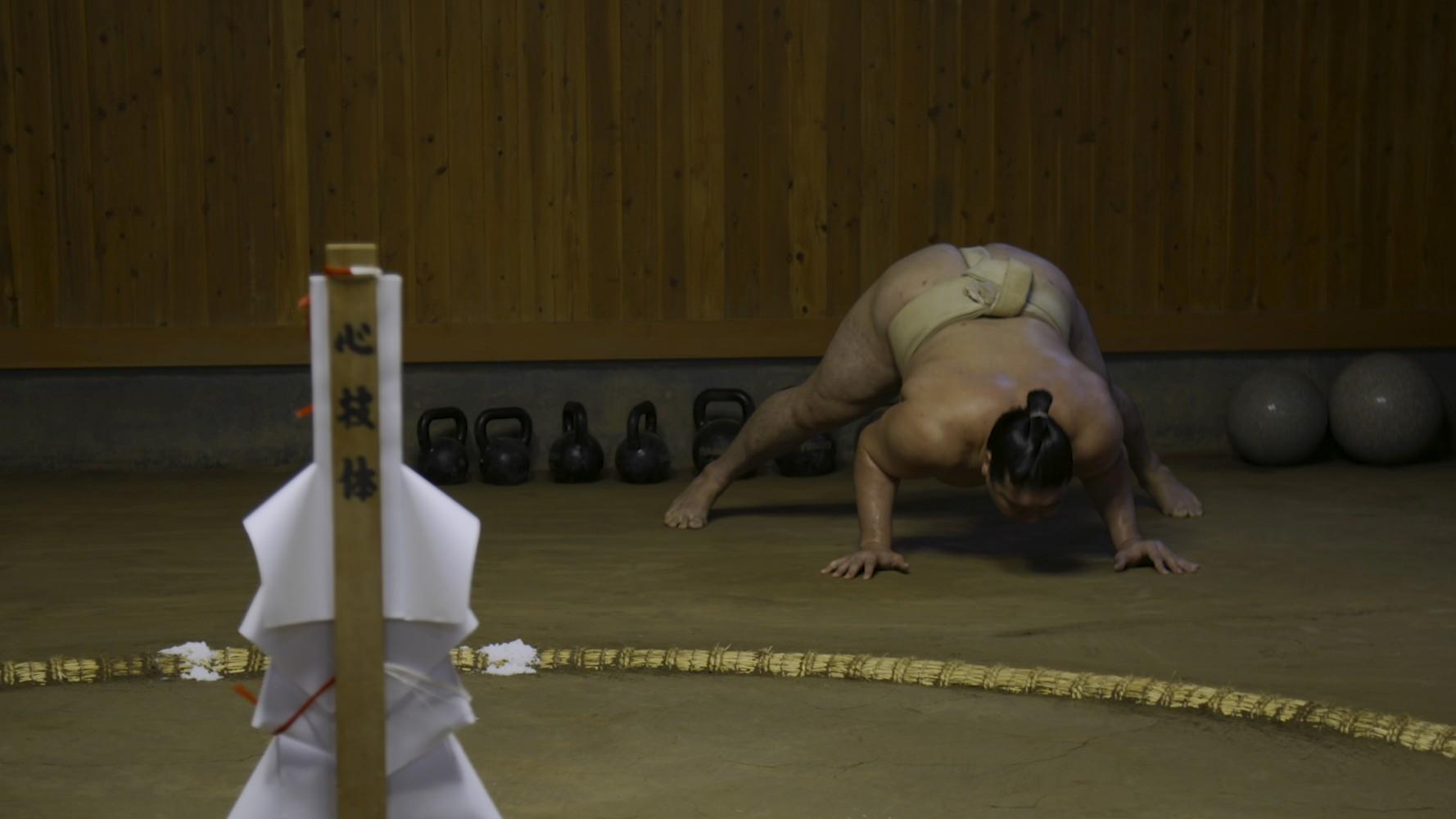 L'allenamento del Rikishi