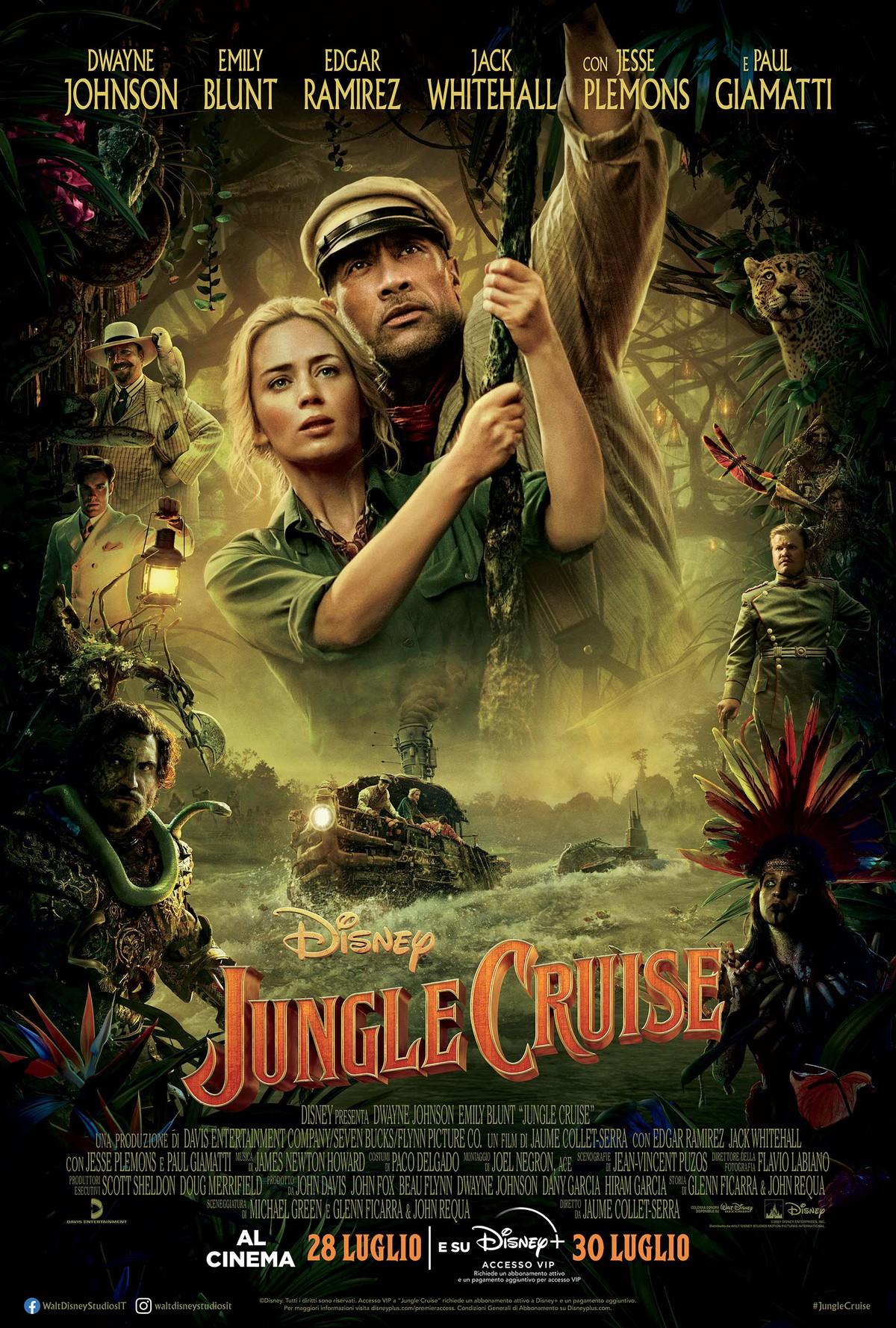 Film in uscita: Jungle Cruise