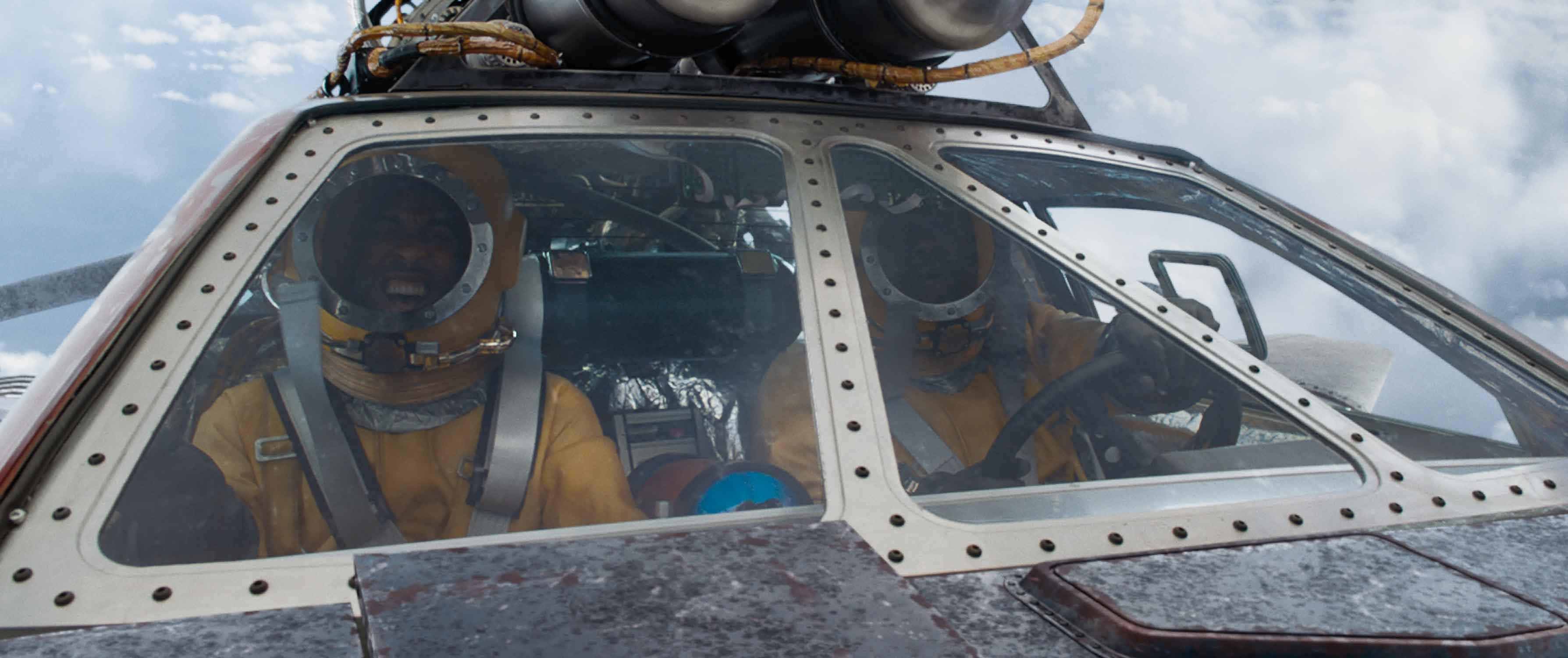 Ludacris e Tyrese Gibson volano verso lo spazio o quasi