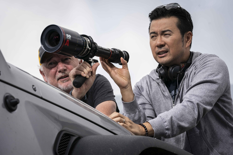 Justin Lin sul set di Fast & Furious 9 - The Fast Saga