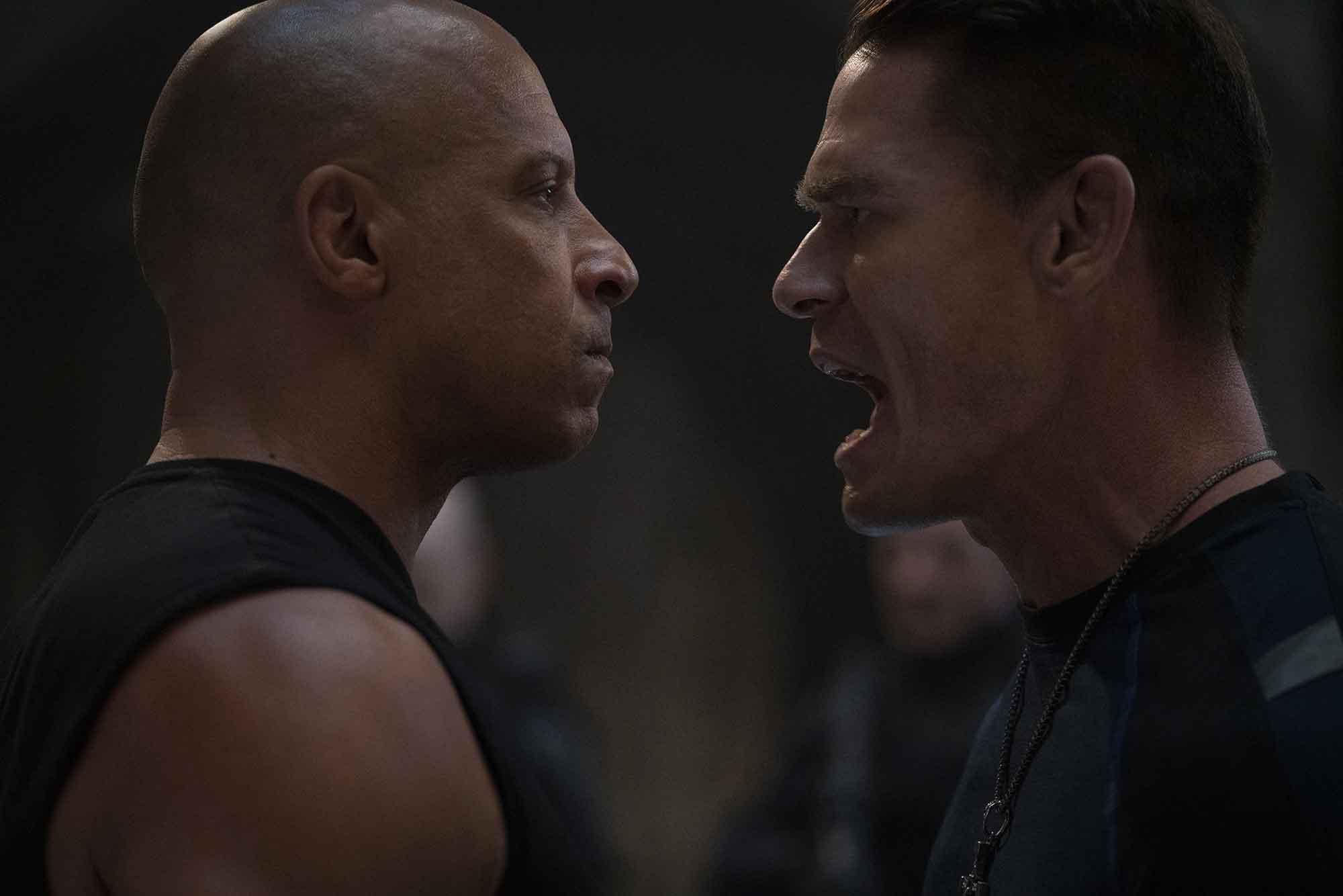 Vin Diesel e John Cena