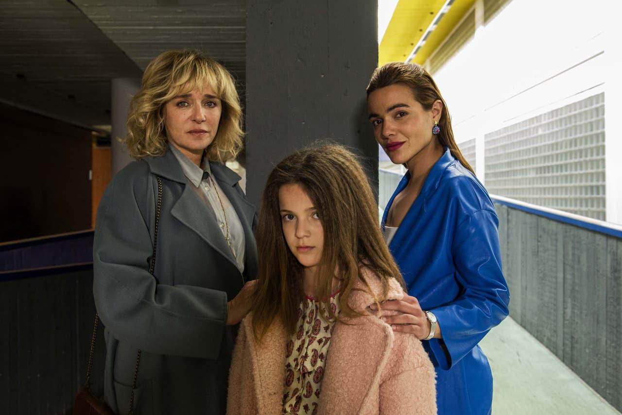 Valeria Golino, Pina Turco e Cristina Magnotti
