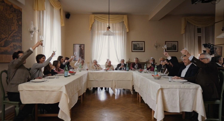 La famiglia Bellocchio in una scena del film