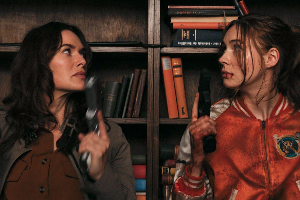 Lena Headey e Karen Gillan