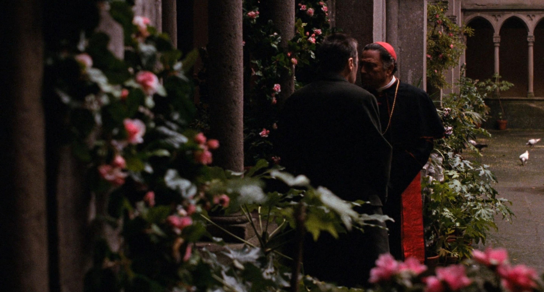 Il Padrino, epilogo: La morte di Michael Corleone con Al Pacino e Raf Vallone