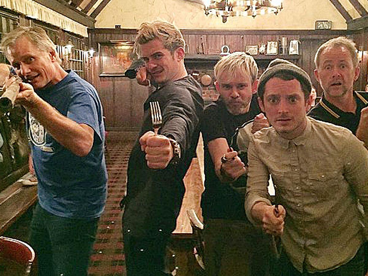 Lord of the Rings: la reunion del cast