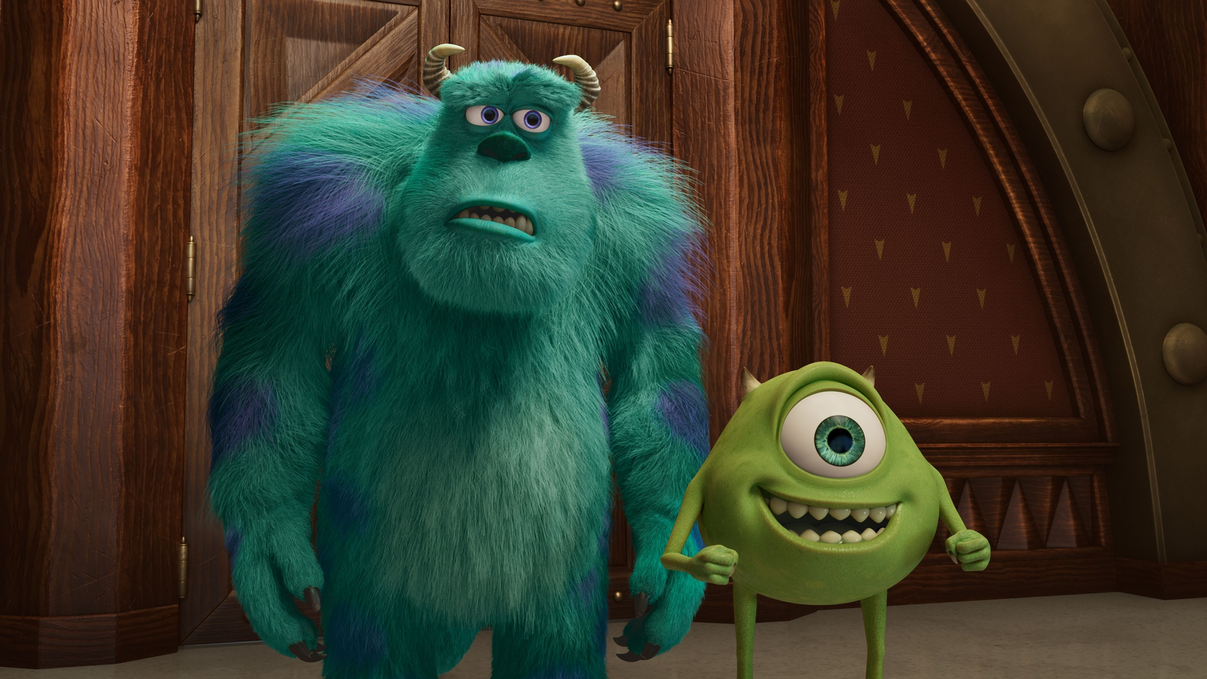 Sulley (John Goodman) e Mike (Billy Crystal)