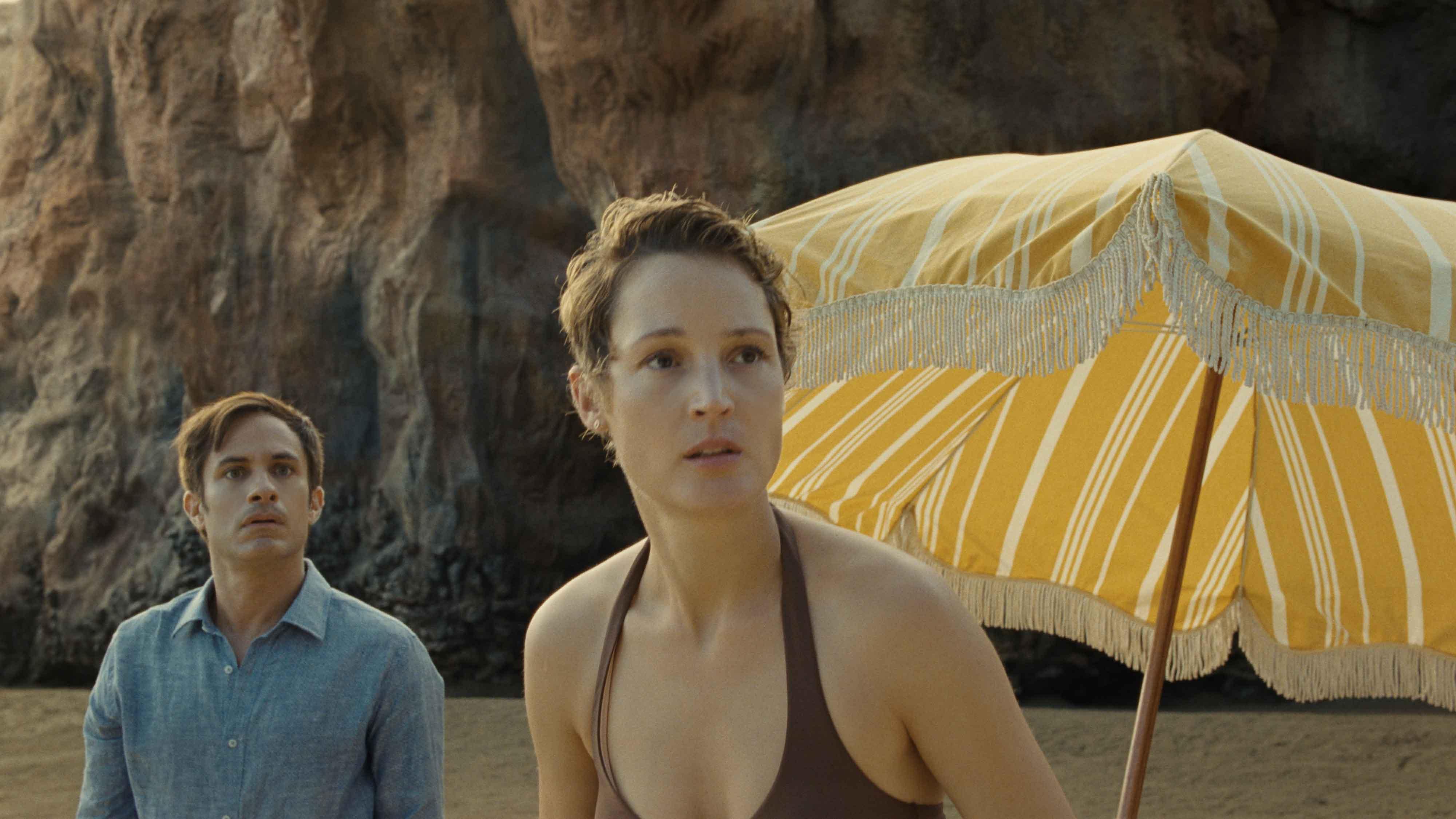Gael García Bernal e Vicky Krieps