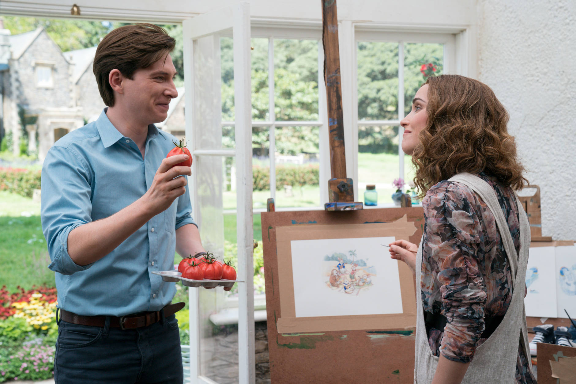 Domhnall Gleeson e Rose Byrne