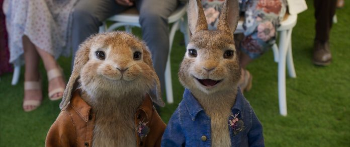 Peter Rabbit 2: Un birbante in fuga recensione film con Rose Byrne