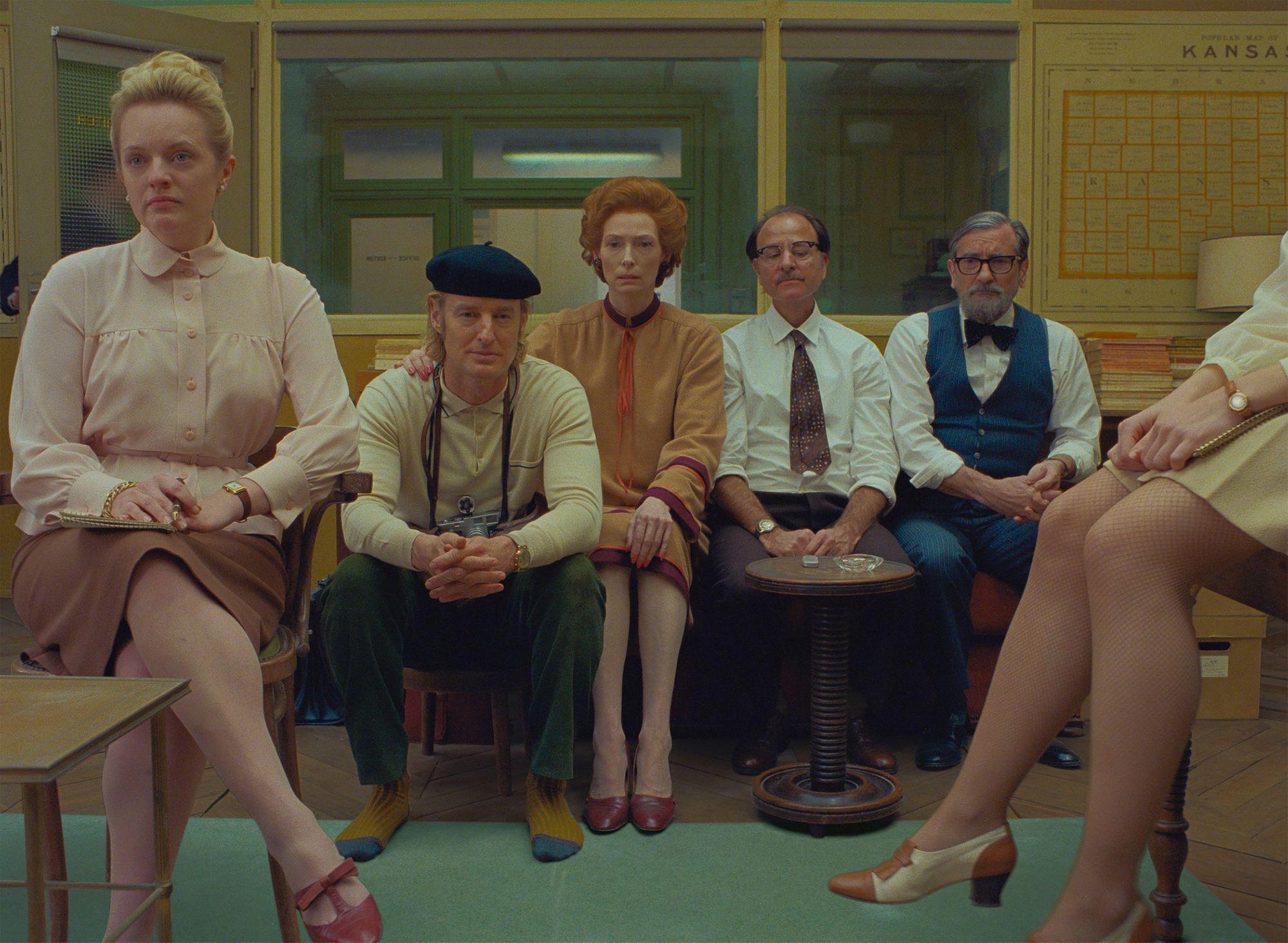 The French Dispatch recensione film di Wes Anderson con Benicio Del Toro e Bill Murray