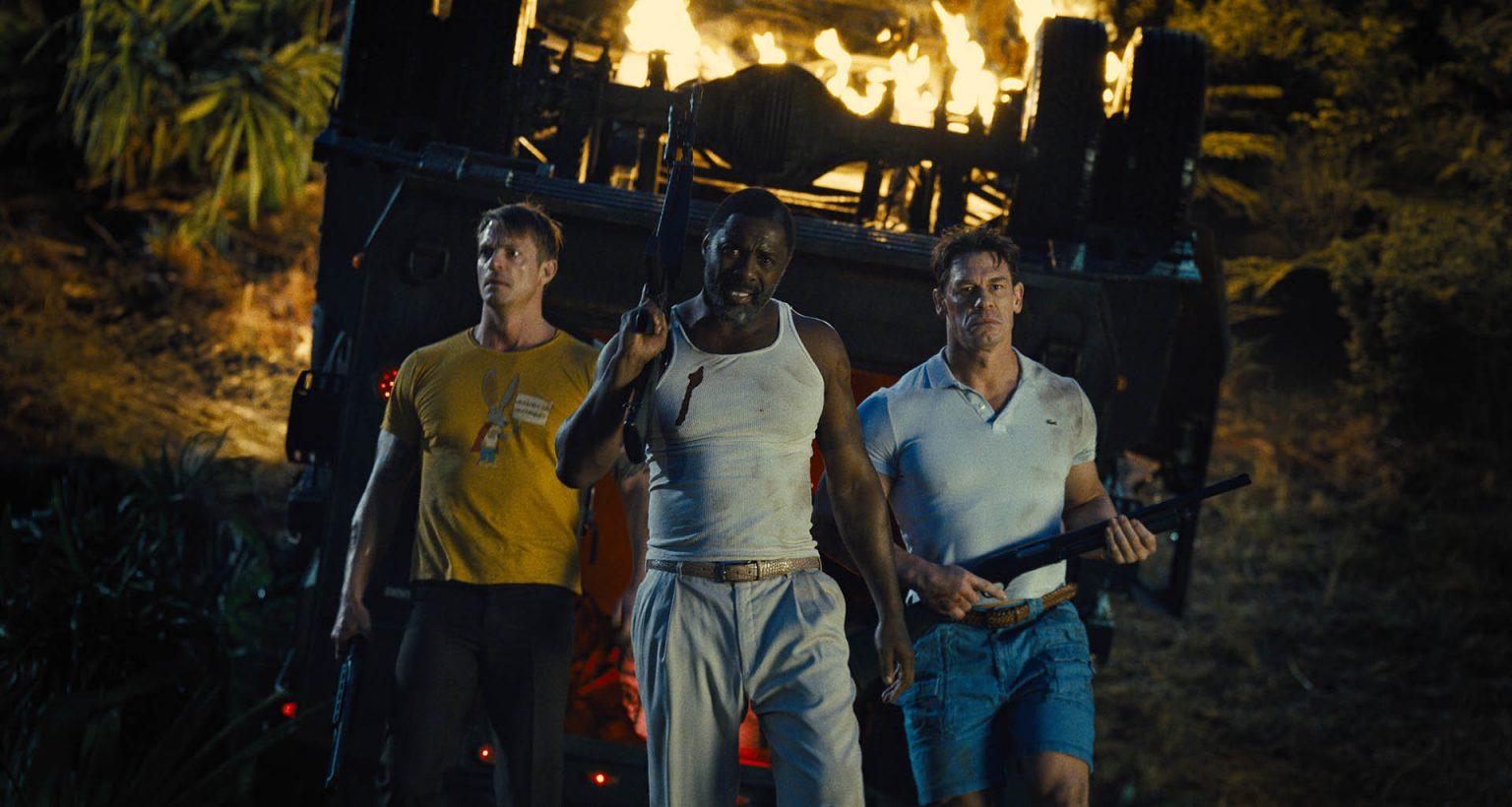 Joel Kinnaman, Idris Elba e John Cena