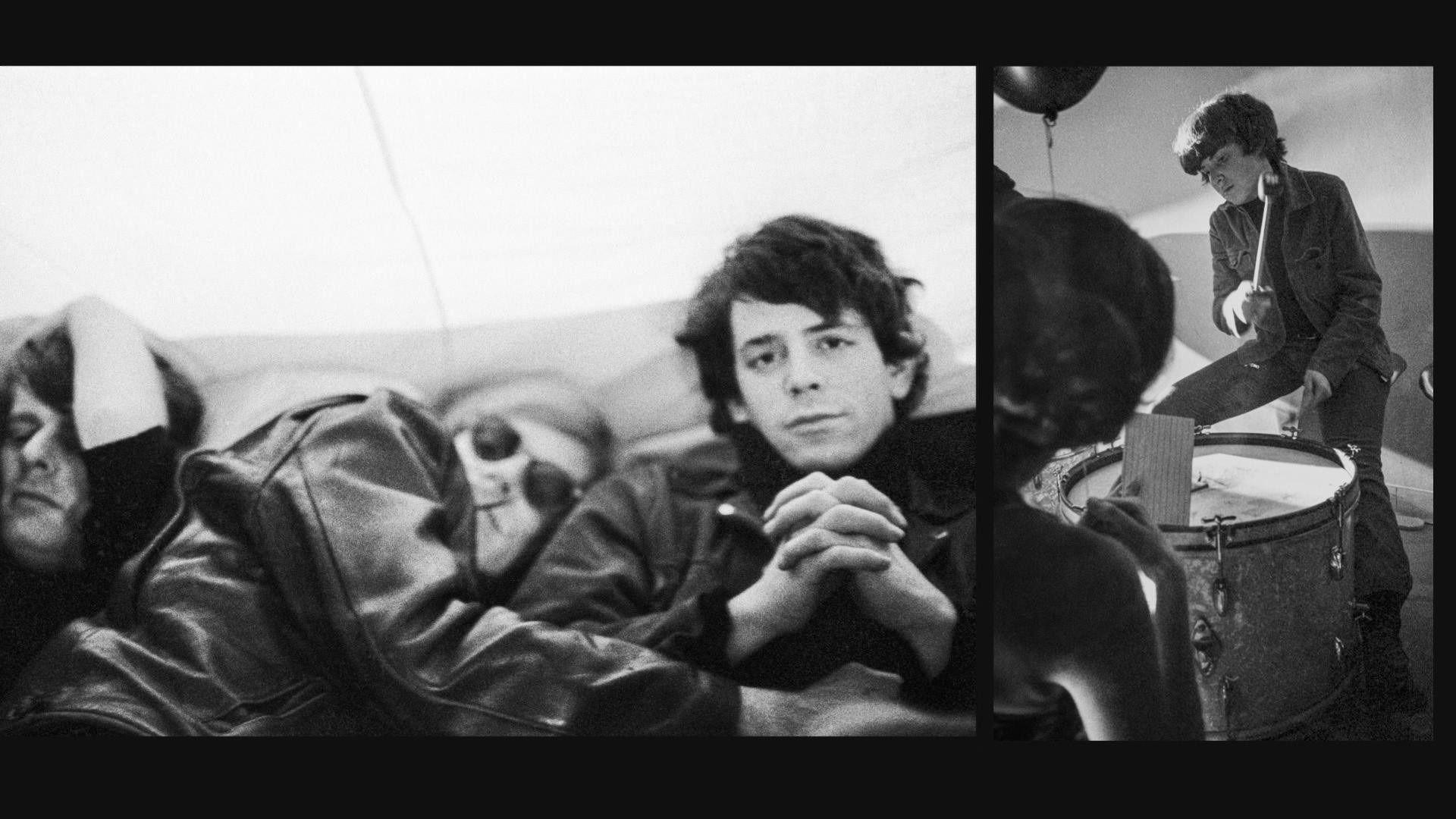 Paul Morrissey, Andy Warhol, Lou Reed e Moe Tucker